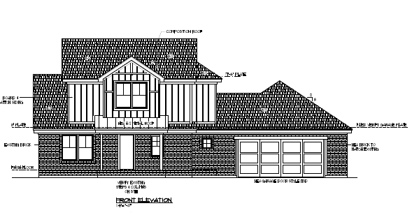305 Lakeside Dr. - Front Elevation Public